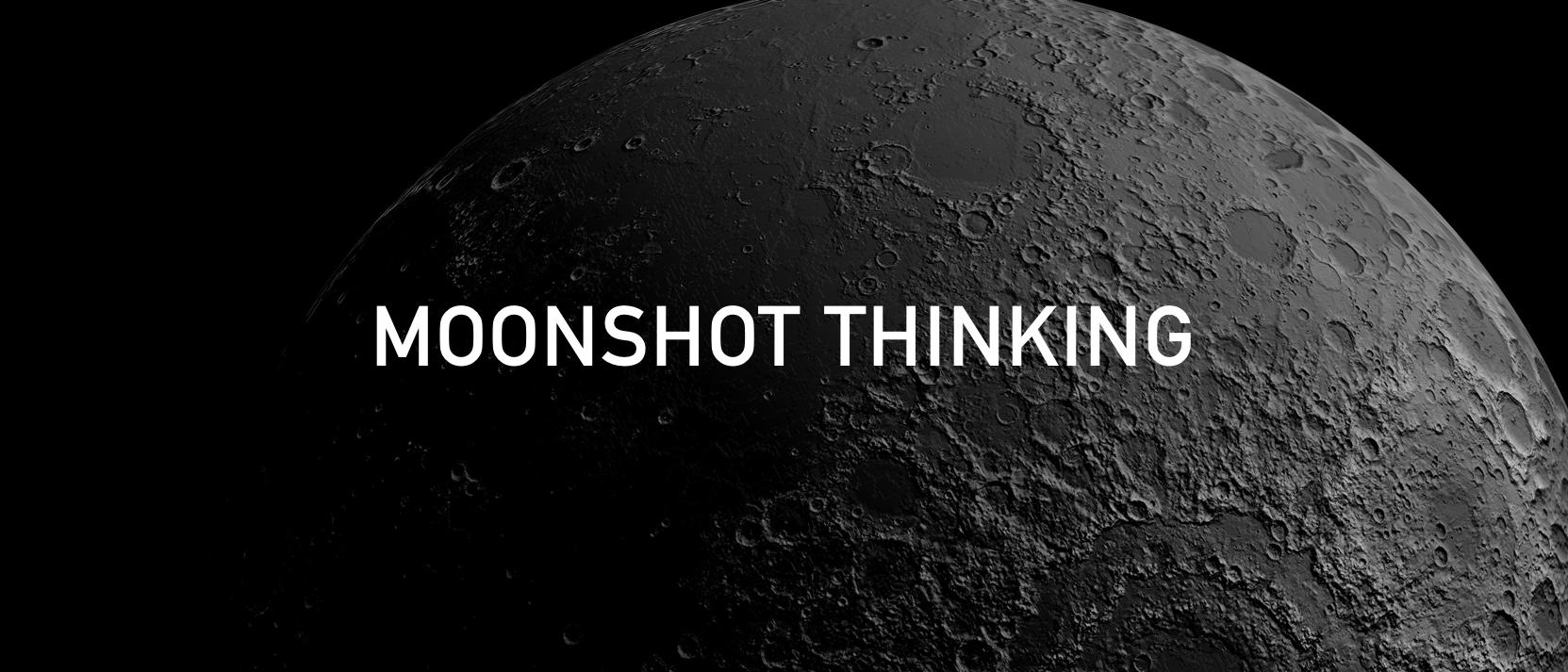 Moonshot Thinking. As the world is celebrating 50 years of…   by Siddarth  Kengadaran   Siddarth Kengadaran